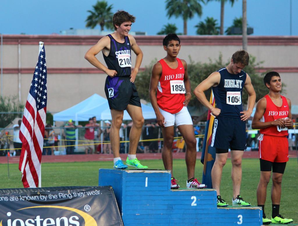 Travis Okie - AZ 800m State Champion